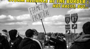 Canada : les antifas bloquent l'extrême-droite à la frontière État-Unis Canada