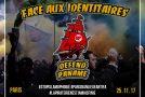 Paris : appel à manifester contre les identitaires