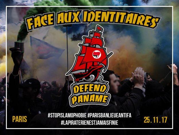Paris : face aux identitaires, defend Paname @ Non précisé