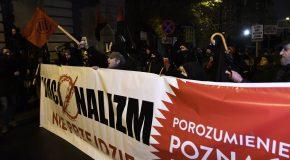 Poznan (Pologne) unie contre le nationalisme ! Retour sur la manif du 15 novembre