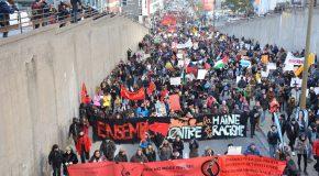 Canada : des milliers de gens contre le racisme dans les rues de Montréal (photos)