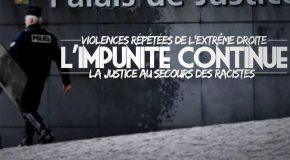 Agressions commises par l'extrême droite à Nantes : l'impunité continue ! 2 mois de sursis pour une agression raciste.