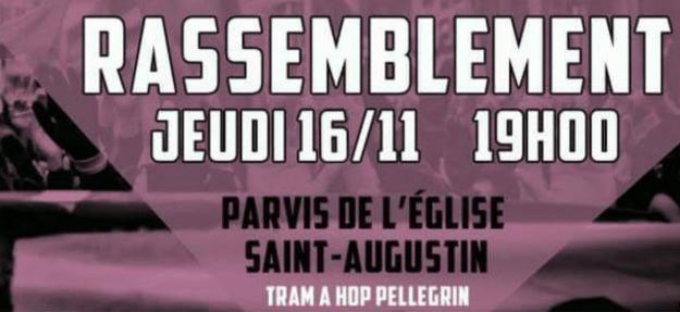 Bordeaux : mobilisation contre la venue de Vardon @ Parvis de l'Église | Bordeaux | Nouvelle-Aquitaine | France
