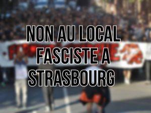 Manif antifa strasbourg le 9 12 2017