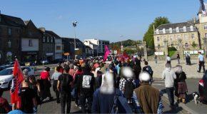 Guingamp : RETOUR SUR LA MANIFESTATION DU 14 OCTOBRE