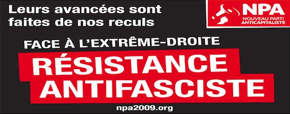 Clermont-Ferrand : réunion sur le fascisme et l'antifascisme (NPA) @ Salle 6 du centre Jean Richepin   Clermont-Ferrand   Auvergne-Rhône-Alpes   France