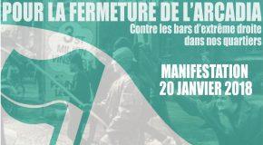 Manifestation #2 contre le local fasciste à Strasbourg