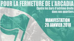 Strasbourg :  manifestation #2 contre le local fasciste