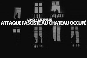 Nantes attaque fasciste le 04 12 2017