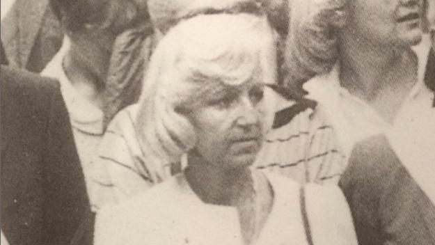 Martine Lehideux dans les années 1980.