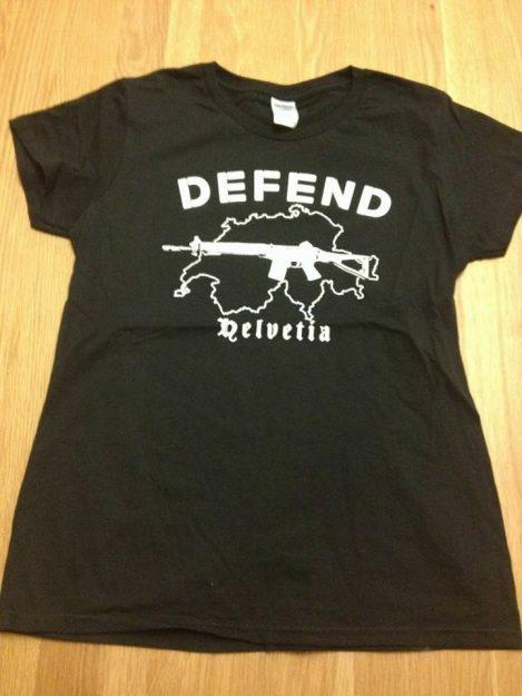 T-Shirt Résistance Helvétique