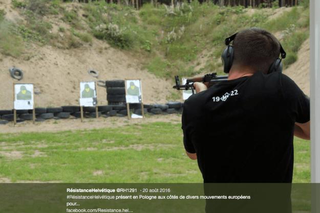 Résistance Helvétique en Pologne en août 2016