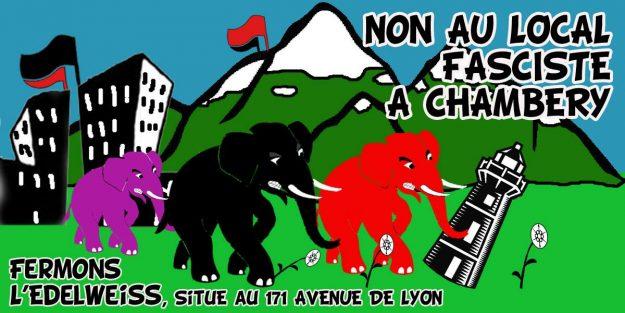 Chambéry : mobilisation contre le Bastion social @ Devant la préfecture | Chambéry | Auvergne-Rhône-Alpes | France