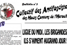 Hérault : bulletin #3 du collectif antifasciste des Hauts Cantons
