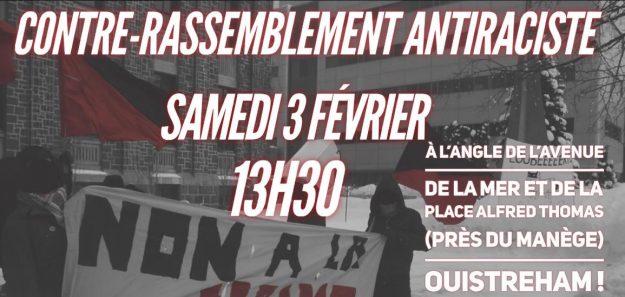Ouistreham (Calvados) : contre-rassemblement antiraciste @ Ouistreham | Normandie | France