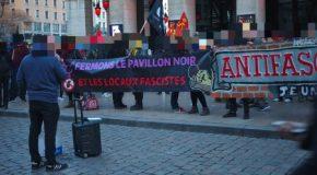 Lyon : retour sur le rassemblement contre le local fasciste le Pavillon Noir