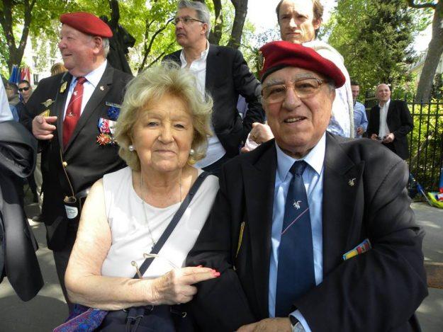 Roger Holeindre et Martine Le Hideux