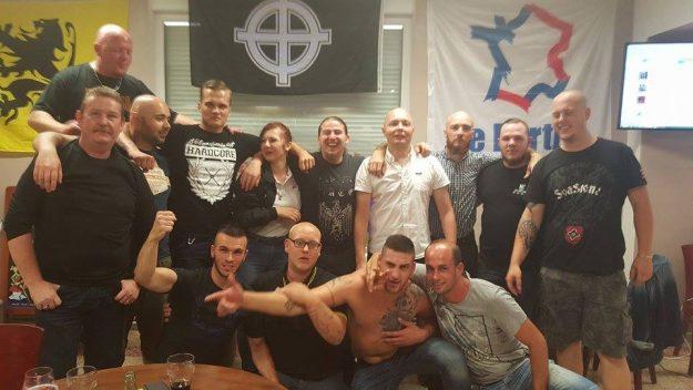 réunion du Parti de la France à Brancourt le Grand le 05 08 2016