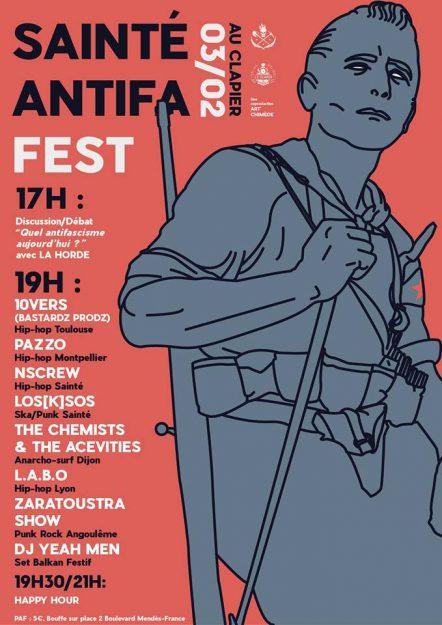 Sainté Antifa Fest @ Le Clapier | Saint-Étienne | Auvergne-Rhône-Alpes | France