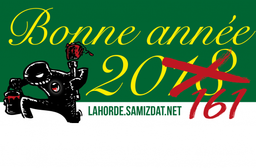 Bonne année antifasciste à toutes et tous !