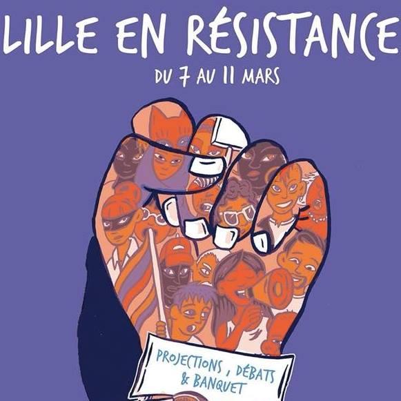 Lille en Résistance : manifestation contre le FN @ Lille | Hauts-de-France | France