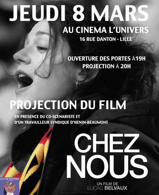 Lille en Résistance : projection du film « Chez nous » @ Cinéma l'Univers  | Lille | Hauts-de-France | France