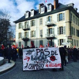 Chambéry contre le Bastion Social