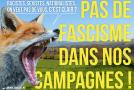 Donges (Loire Atlantique) :  Fachos, hors de nos campagnes !
