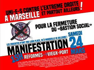 Marseille : Manifestation pour la fermeture du « Bastion social » @ Les Réformés (haut Canebière) | Marseille | Provence-Alpes-Côte d'Azur | France