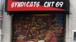 Lyon : attaque fasciste contre le local de la CNT