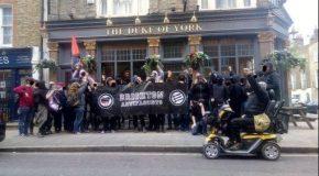 Londres : victoire pour les antifascistes alors que la conférence Génération Identitaire est forcée à être annulée!