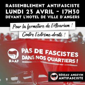 Angers : Rassemblement Antifasciste @ Angers | Pays de la Loire | France