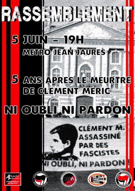 Toulouse : rassemblement en hommage à Clément Méric @ Jean Jaurès | Toulouse | Occitanie | France