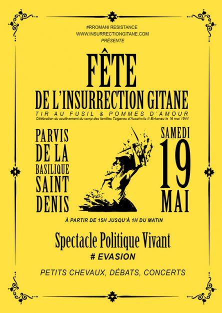 Saint-Denis (93) : fête de l'insurrection gitane @ Parvis de la basilique de Saint Denis | Saint-Denis | Île-de-France | France