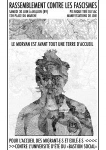 Avallon : Convergeons vers Avallon contre les fascismes ! @ Avallon | Bourgogne Franche-Comté | France