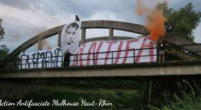 Mulhouse : hommage à Clément