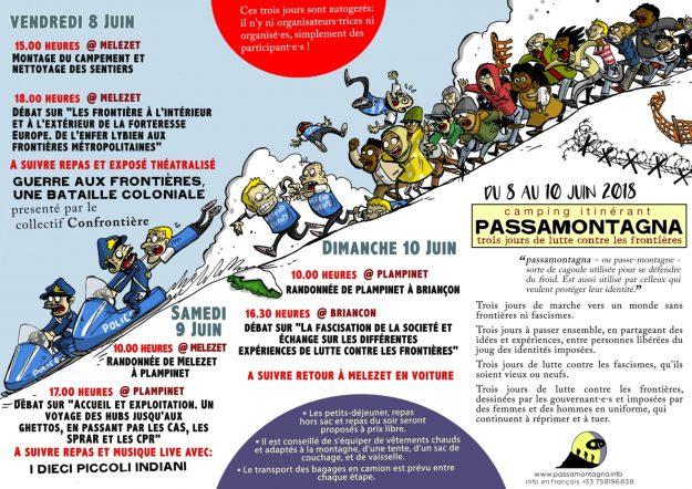PASSAMONTAGNA Trois jours de lutte contre les frontières ! @ Melezet - Plampinet - Briançon | Briançon | Provence-Alpes-Côte d'Azur | France