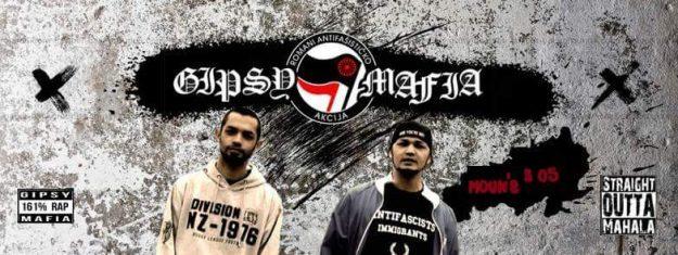 Ivry : concert de Gipsy Mafia, rap serbo-rrom antifasciste (en solidarité avec l'Attiéké) @ Vaydom (Ivry) | Ivry-sur-Seine | Île-de-France | France