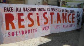 Bastion Social : 200 manifestant·es à Avallon contre les (néo)fascistes…
