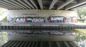 Graffitis de l'AFA Epinal 2018