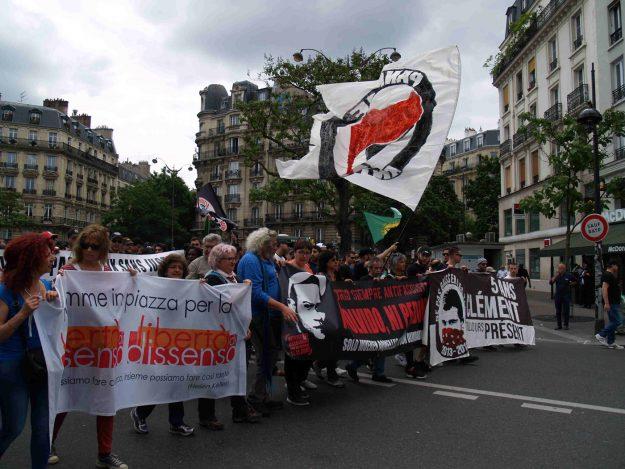 Mères solidaires, Paris, juin 2018
