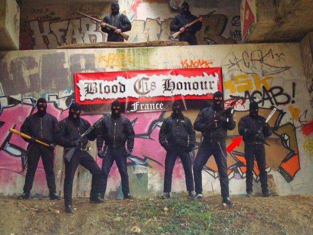 Le Blood & Honour C18 avec les frères Bettoni