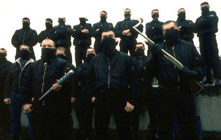Les Jeunesses Nationalistes Révolutionnaires version années 90 avec Serge Ayoub, Batskin