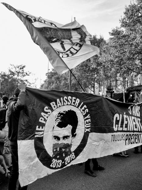 Manif Clément, 14 septembre 2018