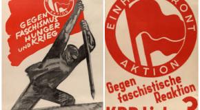 Histoire et variations du logo antifasciste (1) : les origines