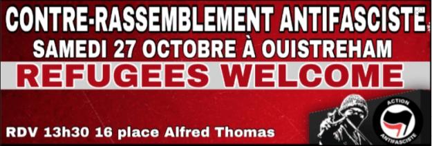 Ouistreham : Contre l'extrême-droite Solidarités avec les réfugiés @ Ouistreham | Normandie | France