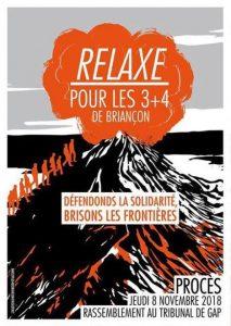 Gap : Liberté pour les 3+4 de Briançon @ tribunal de Gap | Gap | Provence-Alpes-Côte d'Azur | France