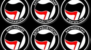 Histoire et variations du logo antifasciste (3) : partout dans le monde