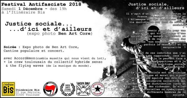 Toulouse Antifa Fest : cantine, concert, expo @ Café Itininéraire Bis | Toulouse | Occitanie | France
