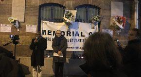 Paris : commémoration du 80e anniversaire de la nuit de pogroms du 9 novembre 1938
